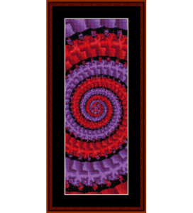 Fractal 122 Bookmark cross stitch pattern by Cross Stitch Collectibles | Crafting | Cross-Stitch | Other