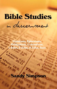 bible studies in discernment - kindle book
