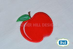 ap010 back to school apple applique