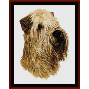 Wheaten - Robert J. May cross stitch pattern by Cross Stitch Collectibles | Crafting | Cross-Stitch | Wall Hangings
