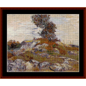 The Rocks - Van Gogh cross stitch pattern by Cross Stitch Collectibles | Crafting | Cross-Stitch | Other
