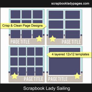 scrapbook lady sailing