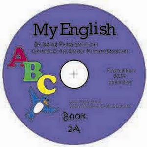 my english abc, bridging course for chinese cross border students, audio disk for book 2a