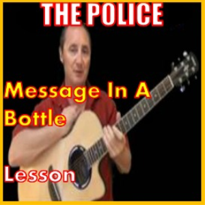 learn to play message in a bottle by the police