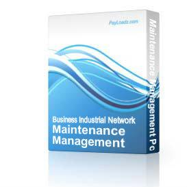 Maintenance Management Powerpoint Presentation | Software | Training