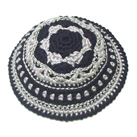 Festive Crochet Kippah Pattern | Crafting | Cross-Stitch | Religious