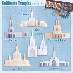 california temples elements