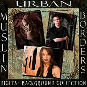 (1c) urban, muslin, borders