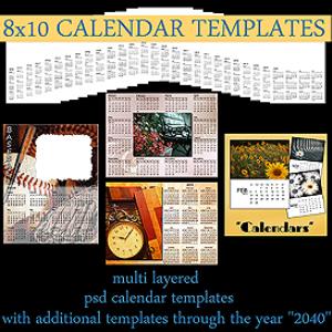 new calendar templates
