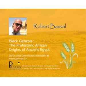 robert bauval: black genesis - the prehistoric origins of ancient egypt