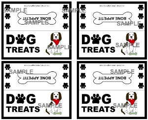 dog treats bag topper download