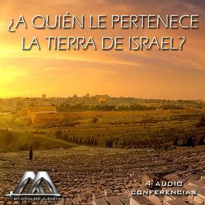a quien pertenece la tierra de israel?