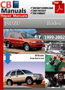 Isuzu Rodeo 1999-2002 Service Repair Manual | eBooks | Automotive