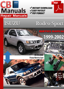 Isuzu Rodeo Sport 1999-2002 Service Repair Manual | eBooks | Automotive