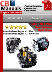 Cummins Diesel Engine M11 Service Repair Manual | eBooks | Automotive
