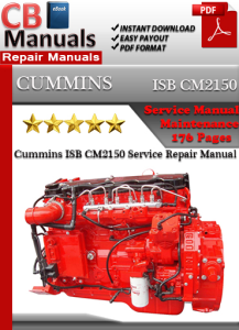 cummins isb cm2150 service repair manual