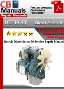 Detroit Diesel Series 50 Service Repair Manual | eBooks | Automotive