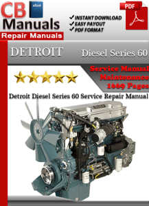 Detroit Diesel Series 60 Service Repair Manual | eBooks | Automotive