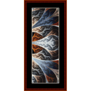 Fractal 446 Bookmark cross stitch pattern by Cross Stitch Collectibles | Crafting | Cross-Stitch | Other