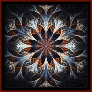 Fractal 446 cross stitch pattern by Cross Stitch Collectibles | Crafting | Cross-Stitch | Other