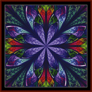 Fractal 448 cross stitch pattern by Cross Stitch Collectibles | Crafting | Cross-Stitch | Other