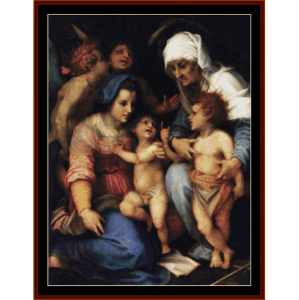 Madonna and Child - Del Sarto cross stitch pattern by Cross Stitch Collectibles | Crafting | Cross-Stitch | Other
