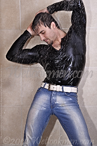 gabriel hot shower