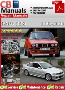 BMW 323i 1992-2005 Service Repair Manual | eBooks | Automotive