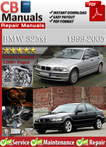BMW 325xi 1999-2005 Service Repair Manual | eBooks | Automotive
