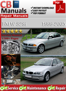 BMW 328i 1999-2005 Service Repair Manual | eBooks | Automotive