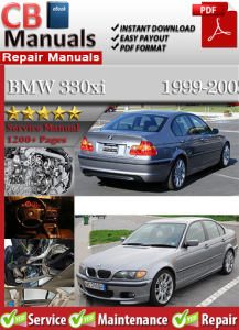 BMW 330xi 1999-2005 Service Repair Manual | eBooks | Automotive