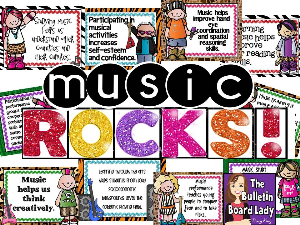 music rocks! music advocacy bulletin board