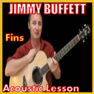 learn to play fins by jimmy buffett