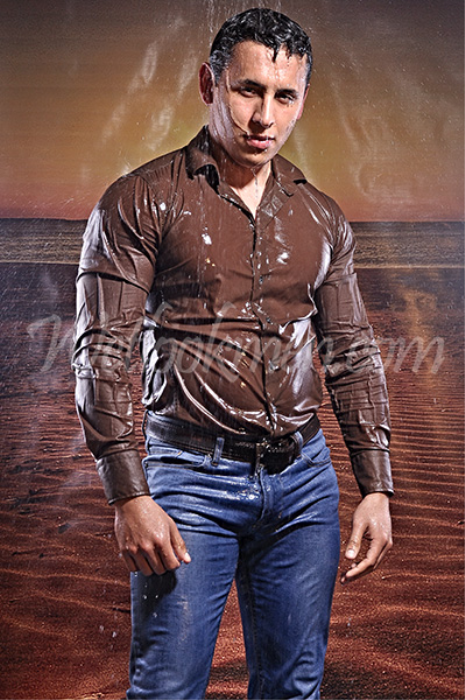 First Additional product image for - David Shiny Shirt