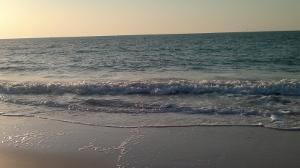 seashore evening