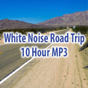 White Noise Road Trip (10 Hours) | Music | Ambient
