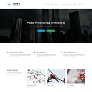 verbo premium wordpress theme