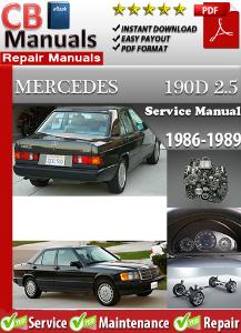 Mercedes 190 D 2.5 1986-1989 Service Repair Manual | eBooks | Automotive