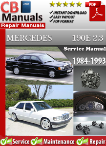 Mercedes 190 E 2.3 1984-1993 Service Repair Manual | eBooks | Automotive