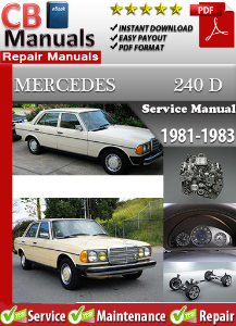 Mercedes 240D 1981-1983 Service Repair Manual | eBooks | Automotive