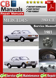 Mercedes 280CE 1981 Service Repair Manual | eBooks | Automotive