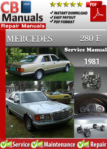 Mercedes 280E 1981 Service Repair Manual | eBooks | Automotive