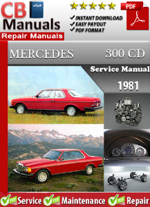 Mercedes 300CD 1981 Service Repair Manual | eBooks | Automotive