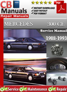 Mercedes 300CE 1988-1993 Service Repair Manual | eBooks | Automotive