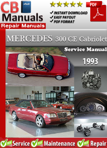 Mercedes 300CE Cabriolet 1993 Service Repair Manual | eBooks | Automotive