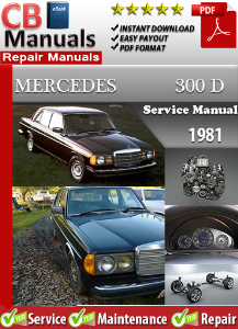 Mercedes 300D 1981 Service Repair Manual | eBooks | Automotive