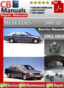 Mercedes 300SD 1992-1993 Service Repair Manual | eBooks | Automotive