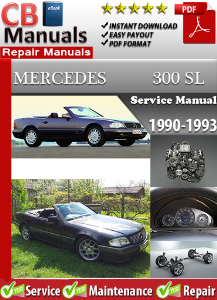Mercedes 300SL 1990-1993 Service Repair Manual | eBooks | Automotive