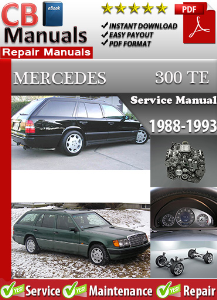 Mercedes 300TE 1988-1993 Service Repair Manual | eBooks | Automotive