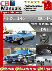 Mercedes 380SLC 1981 Service Repair Manual | eBooks | Automotive